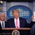 """Coronavirus: Riscul pentru Statele Unite este """"foarte scăzut"""" (Trump)"""
