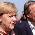 """Germania/alegeri: Un ultim apel al lui Merkel pentru a-l vota pe Laschet, pentru """"viitorul"""" Germaniei"""